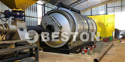 云指导-巴拉圭轮胎炼油设备安装