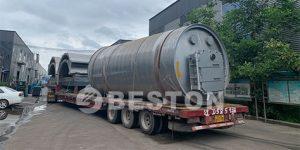 BLJ-16炼油设备发往印尼