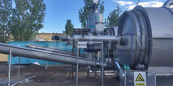 内蒙古油泥处理设备